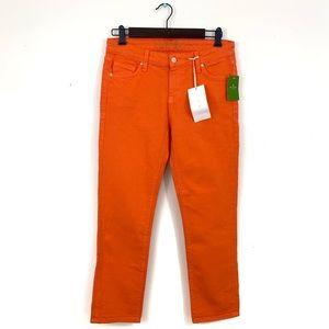 Kate Spade New York Perry Street Jeans in Orange